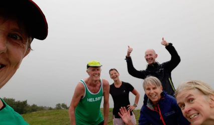 56 runners out on Wednesday club run – is this a record?